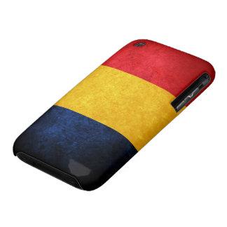Bandera de Rumania Case-Mate iPhone 3 Cobertura