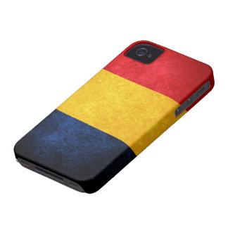 Bandera de Rumania iPhone 4 Case-Mate Funda