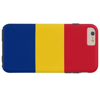 Bandera de Rumania Funda Para iPhone 6 Plus Tough