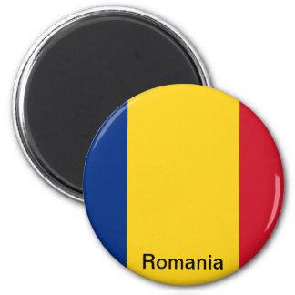 Bandera de Rumania Imán Para Frigorifico