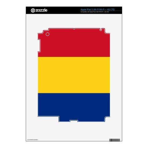 Bandera de Rumania Pegatina Skin Para iPad 3