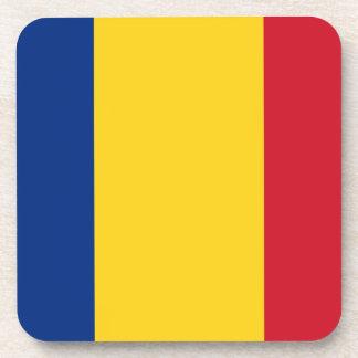 Bandera de Rumania Posavasos