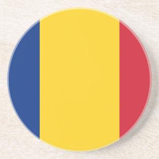 Bandera de Rumania Posavasos Personalizados