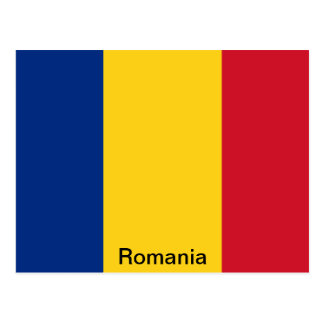 Bandera de Rumania Tarjeta Postal