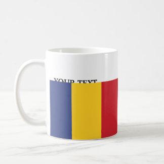 Bandera de Rumania Taza