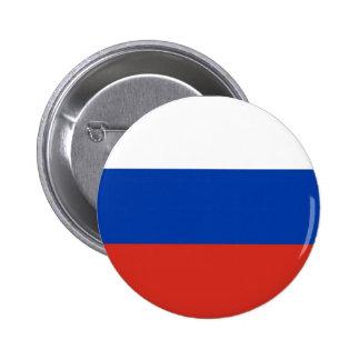 Bandera de Rusia - ФлагРоссии - Триколор Trikolor Pin Redondo De 2 Pulgadas