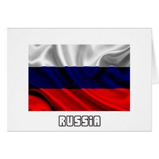 Bandera de Rusia, bandera rusa Felicitaciones