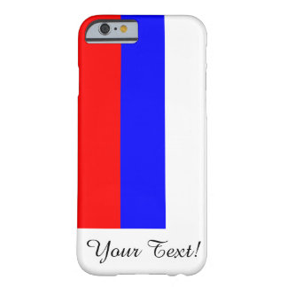 Bandera de Rusia Funda De iPhone 6 Barely There