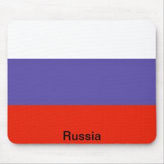 Bandera de Rusia Mouse Pads