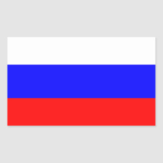 Bandera de Rusia Rectangular Altavoz