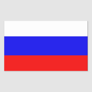 Bandera de Rusia Rectangular Altavoces