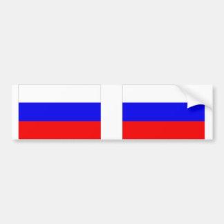 Bandera de Rusia Pegatina Para Auto