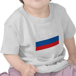 Bandera de Rusia Camisetas