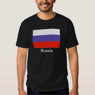 Bandera de Rusia Poleras