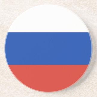 Bandera de Rusia Posavasos Cerveza
