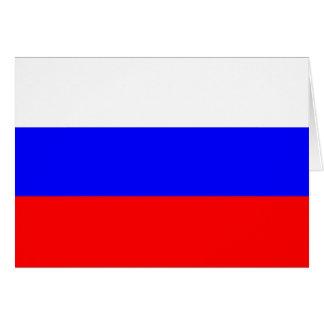 Bandera de Rusia Tarjeta Pequeña