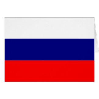 Bandera de Rusia Tarjetas