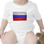Bandera de Rusia Traje De Bebé