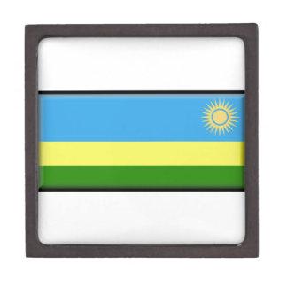 Bandera de Rwanda Caja De Regalo De Calidad