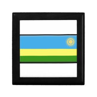 Bandera de Rwanda Caja De Regalo