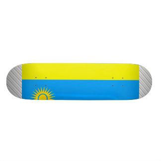 Bandera de Rwanda Monopatin Personalizado