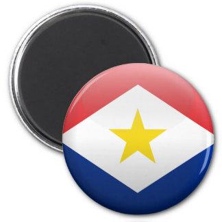 Bandera de Saba Imán De Nevera