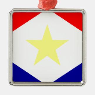 Bandera de Saba Ornamentos De Navidad