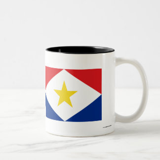Bandera de Saba Tazas De Café