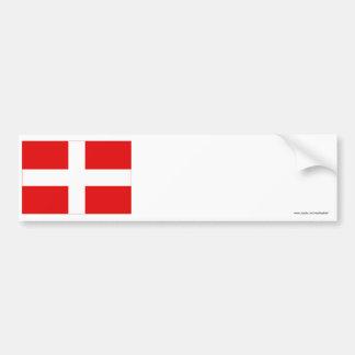 Bandera de Saboya Pegatina Para Auto