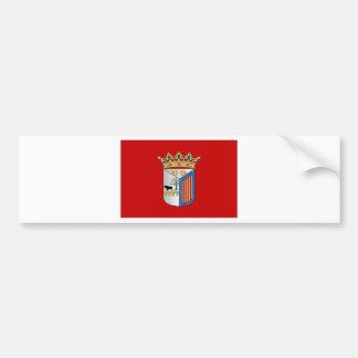 Bandera de Salamanca (España) Pegatina Para Coche