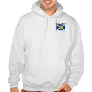 Bandera de Saltire del escocés de la sudadera con