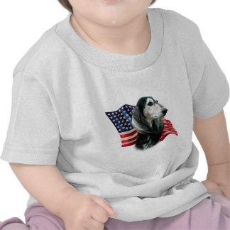 Bandera de Saluki Camisetas
