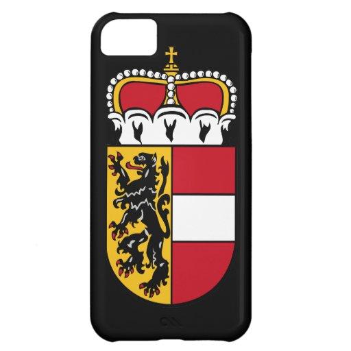 Bandera de Salzburg Carcasa Para iPhone 5C