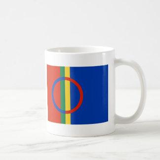 Bandera de Sami Tazas De Café