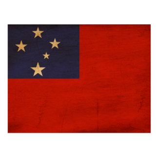 Bandera de Samoa Postales