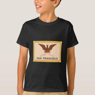 Bandera de San Francisco - retra Poleras
