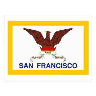 Bandera de San Francisco Tarjetas Postales