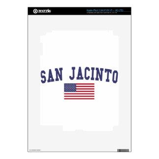Bandera de San Jacinto los E.E.U.U. iPad 3 Skin