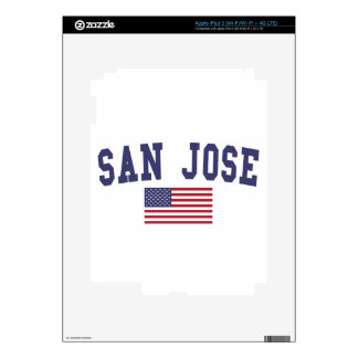 Bandera de San Jose los E.E.U.U. iPad 3 Skin