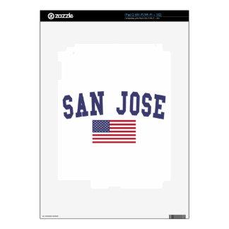 Bandera de San Jose los E.E.U.U. Skin Para El iPad 2