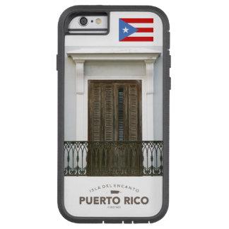 Bandera de San Juan, Puerto Rico Funda De iPhone 6 Tough Xtreme