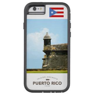 Bandera de San Juan, Puerto Rico Funda Para iPhone 6 Tough Xtreme
