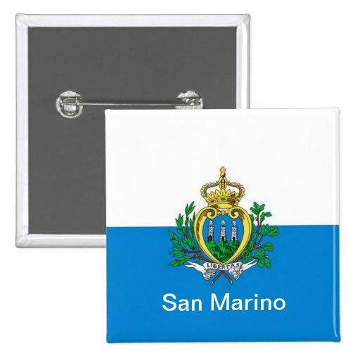 bandera de San Marino Pin