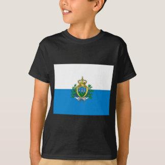 bandera de San Marino Playera