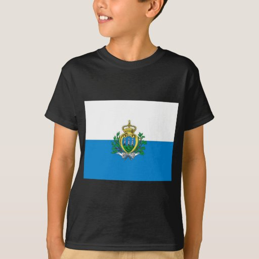 bandera de San Marino Polera
