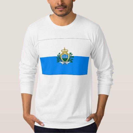 Bandera de San Marino Remera