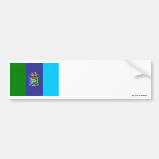 Bandera de Santa Elena Pegatina Para Auto