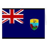 Bandera de Santa Helena Felicitacion