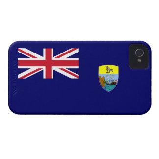 Bandera de Santa Helena iPhone 4 Carcasas