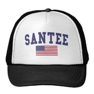 Bandera de Santee los E.E.U.U. Gorros
